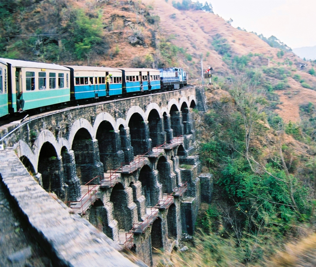 Kalka Shimla Railway Train